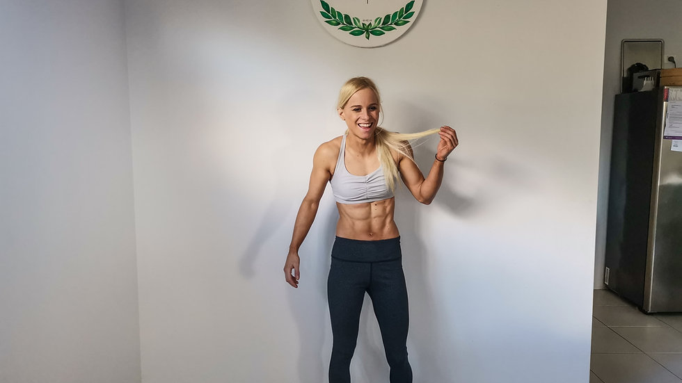 Home Workouts by Anna Davey