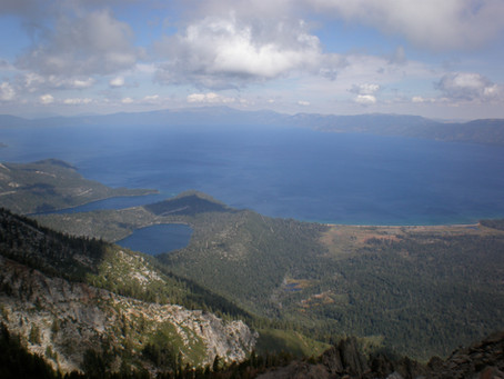 View from Mount Tallac
