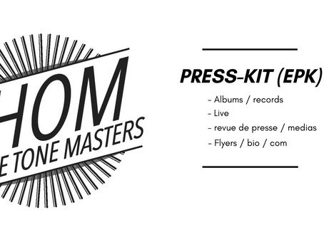 PRESS-KIT (EPK) disponible