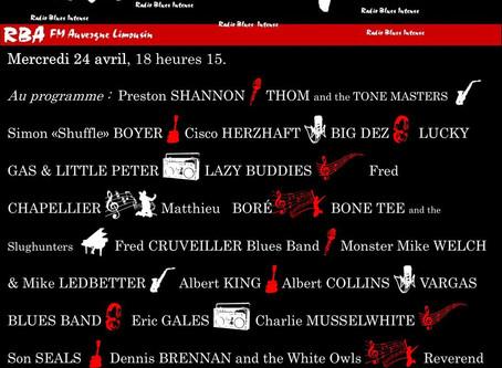 le nouvel EP de THOM and THE TONE MASTERS sur les radios du CRB (collectif des radios blues) !