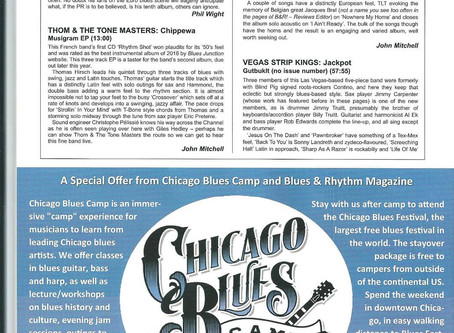RHYTHM and BLUES mag Review !