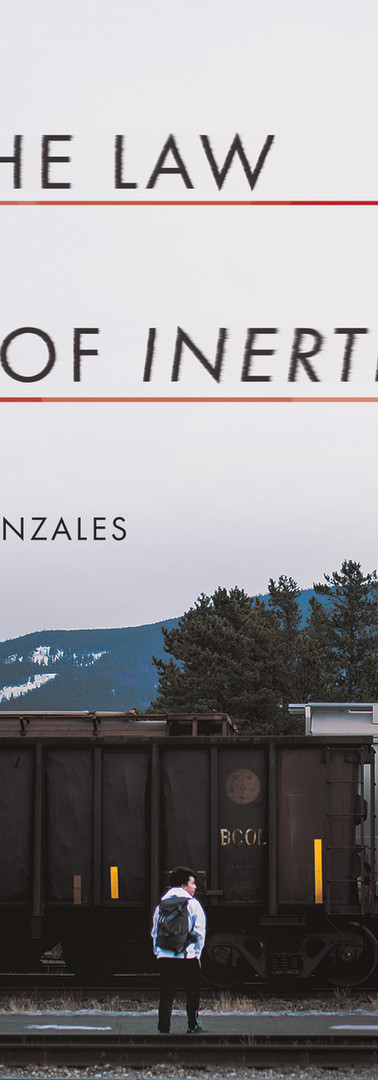 Gonzales Sophie THE LAW OF INERTIA Cover