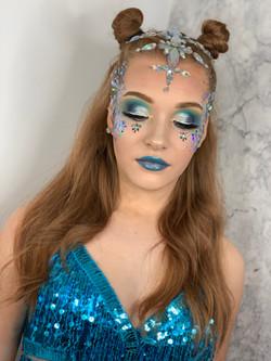Full Glam Festival Makeup