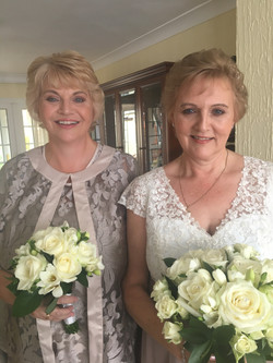 Bride and Maid of Honour
