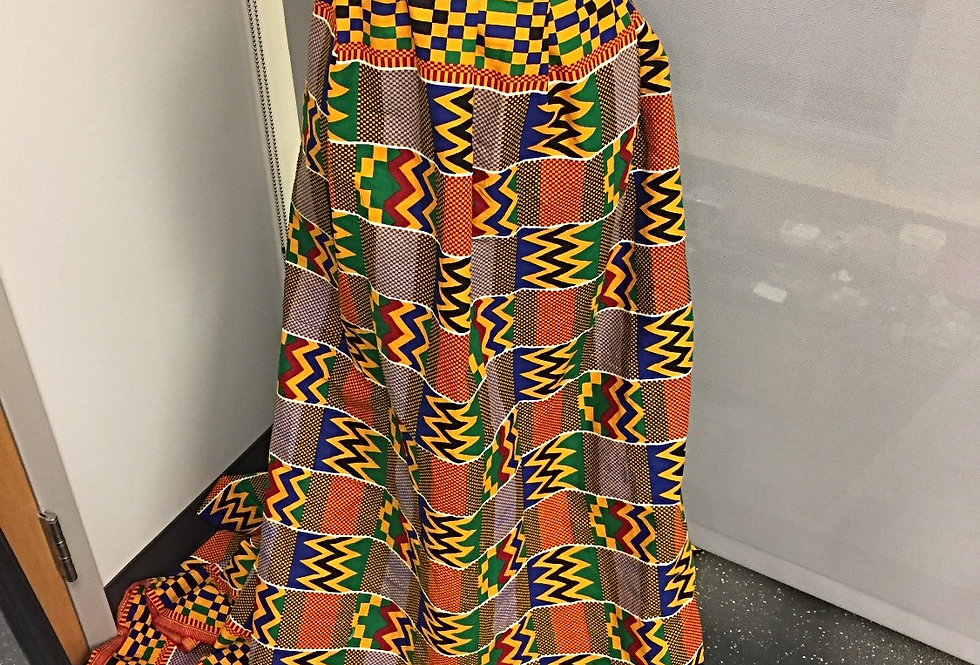 WOMEN'S KENTE FULL SKIRT
