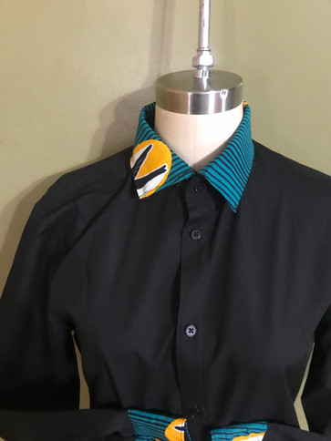 mens accent dress shirt