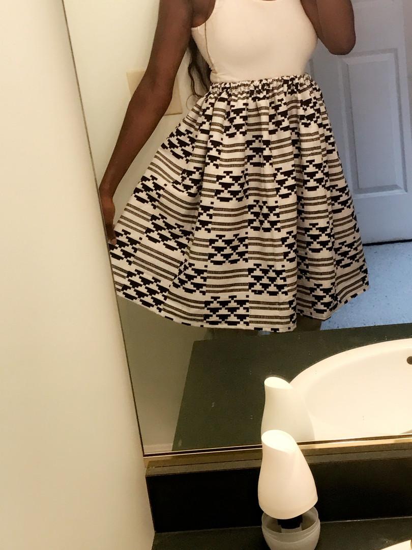 full a-line mid skirt
