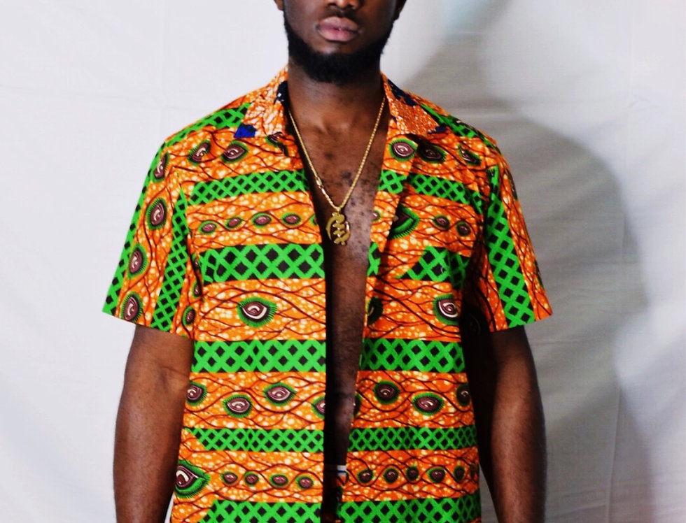 KWASI Two Piece Shorts Set
