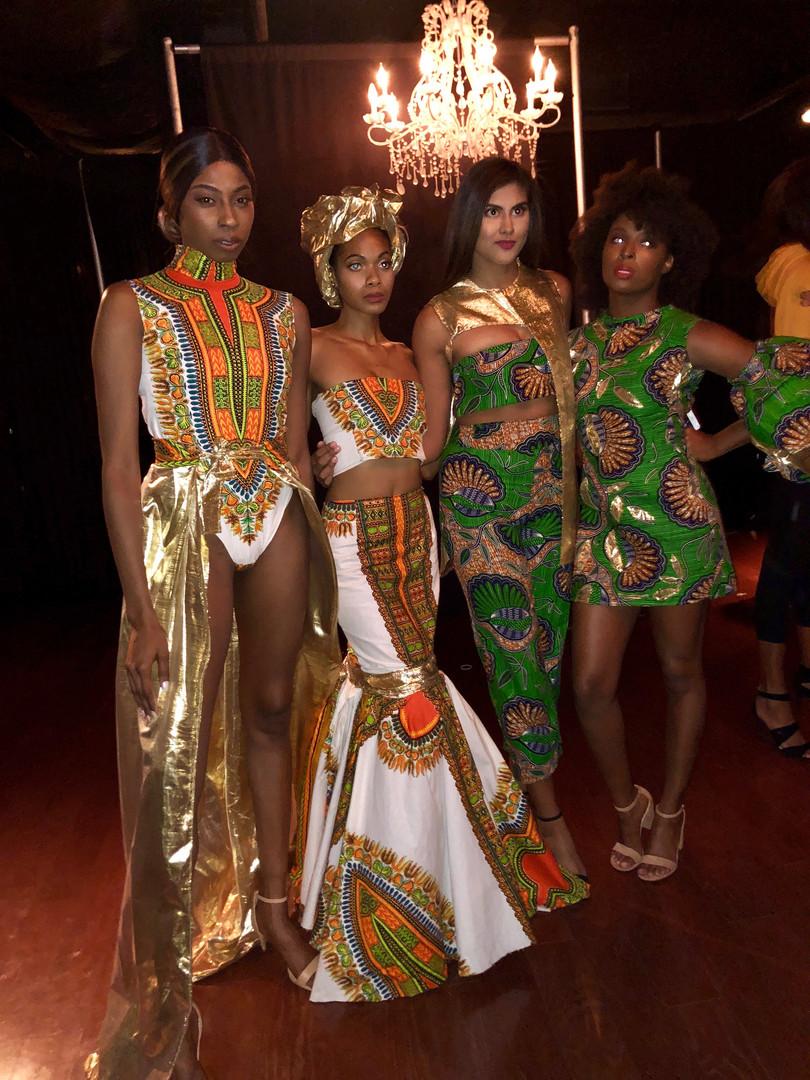 Columbus Fashion Week- Backstage