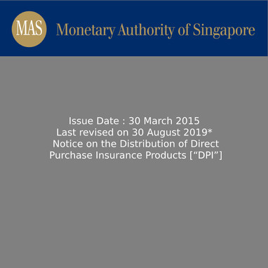 Notice FAA-N19 Distribution of Direct Purchase Insurance Products