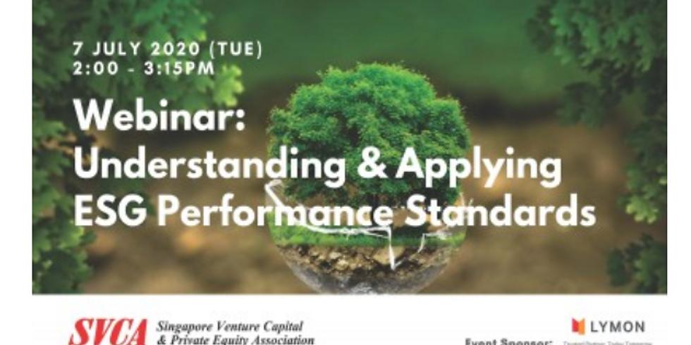 通過SVCA了解和應用ESG績效標準