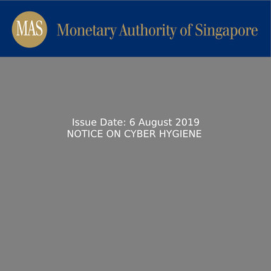 Notice on Cyber Hygiene [CMG-N03]