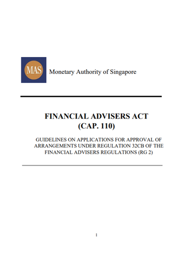 Guidelines on Applications for Approval of Arrangements under Regulation 32CB...
