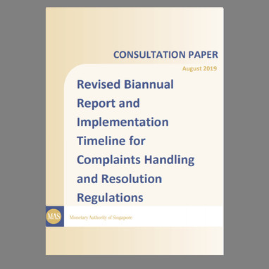 Consultation Paper on Revised Biannual Report and Implementation Timeline for Complaints Handling...
