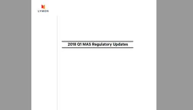Lymon's 2018 Q1 Regulatory Updates