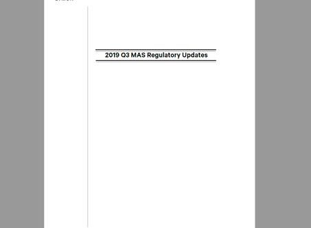 Lymon's 2019 Q3 Regulatory Updates