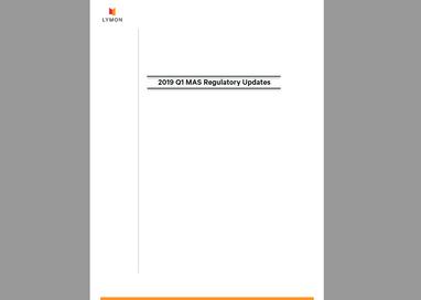 Lymon's 2019 Q1 Regulatory Updates