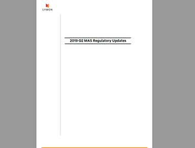Lymon's 2019 Q2 Regulatory Updates