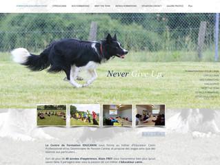 Mise en ligne du Site internet www.cfpeducanin.fr