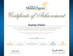 AMR Master Agent Certificate