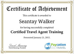 Certified Travel Agent Completion