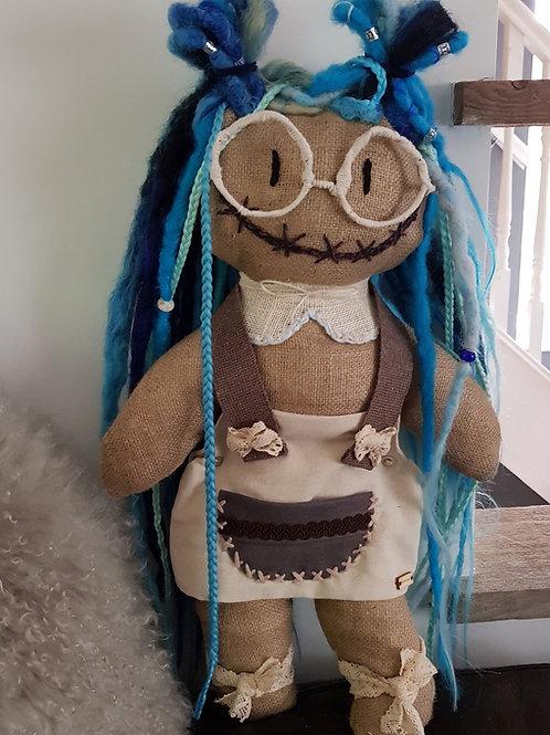 Dread Doll Decorative Unique Dreadlocks Ragdoll