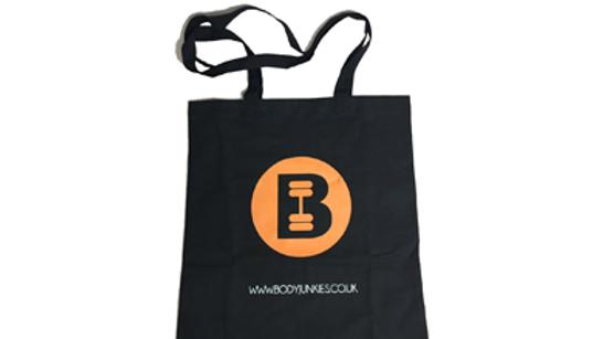 Bodyjunkies Tote Bag With Logo Print In Orange