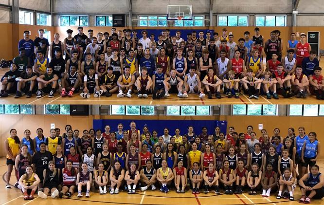 Basketball NZ under 14's 2021