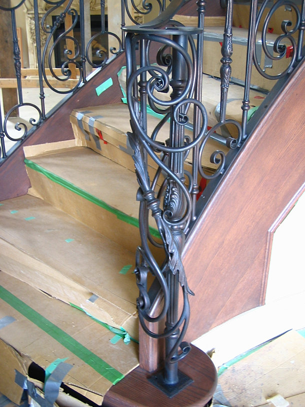 forged wrought iron stairs railings