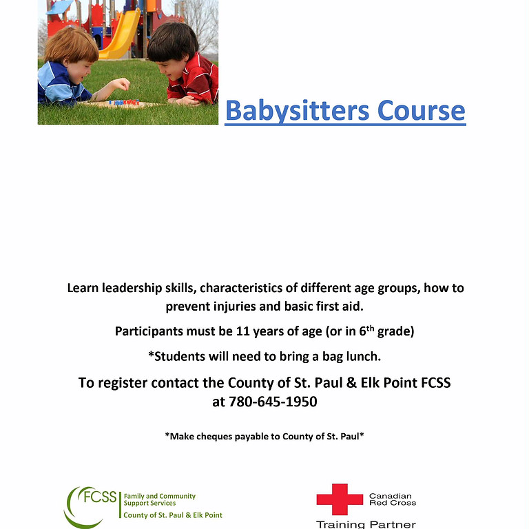 Red Cross Babysitting Course (1)