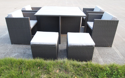 The 9 Piece Messina Outdoor Dining Setting Is A Must For Your Outdoor  Entertaining Area. Seat 8 Comfortably Around The Polywood Topped Table, ... Part 91