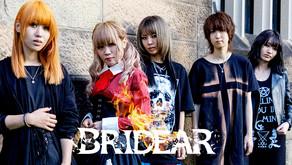 【BRIDEAR】上質なメロディを重厚な音圧で魅せるガールズメタルバンド