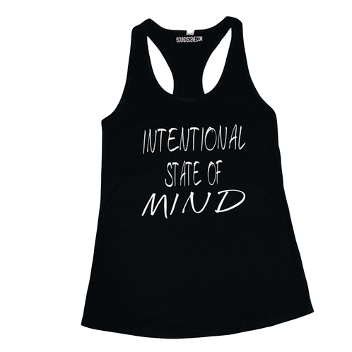 Intentional State Of Mind Ladies Racer Back Tank