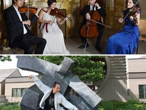 Jupiter Quartet explores music and movement with Tai Ji Master - Feb 7
