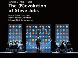 Conductor Michael Christie receives GRAMMY Nomination for The (R)evolution of Steve Jobs