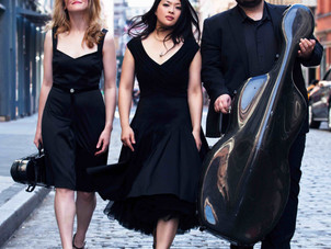 Neave Trio Gives Virtual Concert Presented by Asheville Chamber Music Series on April 23, 24, and 25