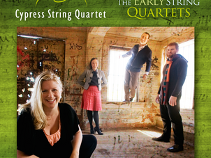 Cypress Quartet releases Beethoven's Early Quartets on AVIE Records