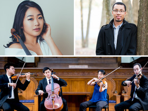Jan 17 in NYC - Showcase Concerts ft. violinist Kristin Lee, Telegraph Quartet, and ACME