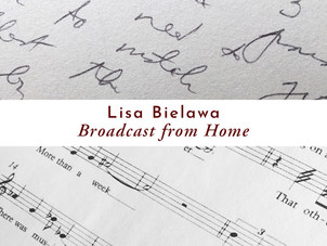 """Lisa Bielawa's """"Broadcast from Home"""" featured on NPR's Morning Edition, Washington"""