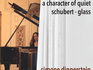 Simone Dinnerstein Releases Album A Character of Quiet, Featuring Works by Schubert and Glass