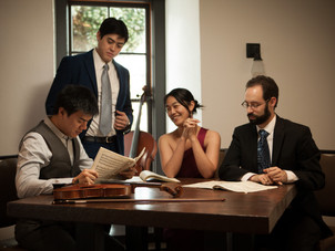 Telegraph Quartet Performs Music by Korngold and Brahms on Noe Music's Online Mainstage Series