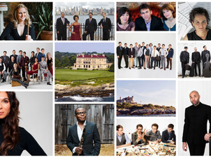 Newport Music Festival Announces Schedule: 17 Outdoor Concerts in July at Historic Mansions & Venues