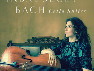 "Inbal Segev releases ""Bach Cello Suites"" on Vox Classics"