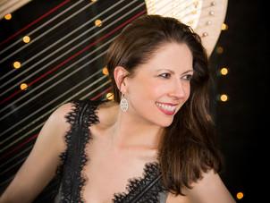 Harpist Yolanda Kondonassis' new album featuring Jennifer Higdon's Harp Concerto receives glowin