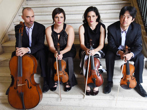 Jupiter Quartet in Virtual Events at University of Illinois, Middlebury College, University of Iowa