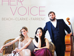 """Neave Trio releases """"Her Voice"""" on Chandos Records (Sept 27 UK / Oct 4 US)"""