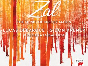 Sony Classical Releases Lucas Debargue's Music of Miłosz Magin with Kremerata Baltica & Gidon Kremer
