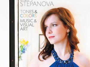 "Jan 19: pianist Liza Stepanova releases new album ""Tones & Colors"" inspired by visual"