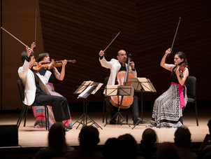 Jupiter String Quartet presented by Bowdoin International Music Festival on Free Livestream Concerts