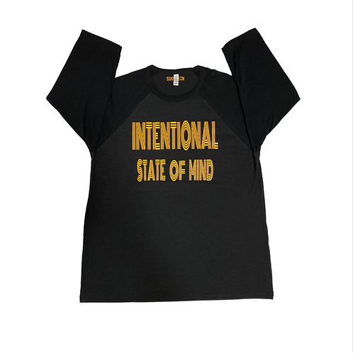 Intentional State Of Mind 3/4 Sleeve Unisex